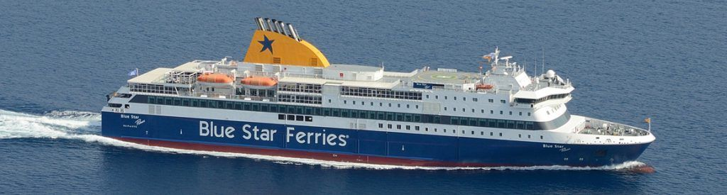 Ferry de Blue Star