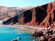 Red Beach of Santorini near Akrotiri