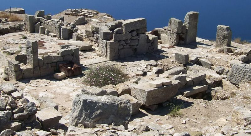 Ancient Thera, Santorin