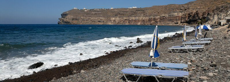 Beach of Pori, Santorini