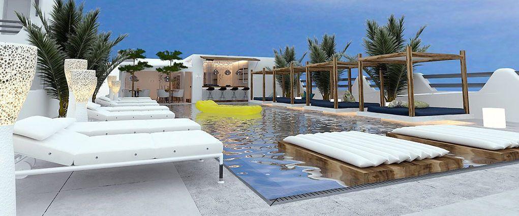 Hotel Rena's Suites in Fira, Santorini