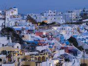 firostefani santorini Griekenland
